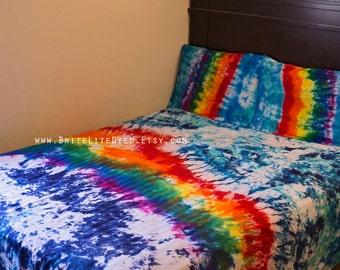 Tie Dye Duvet Set Tie Dye Comforter Tie Dye Comforter Cover Tiedye Comforter