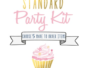 Standard Party Kit - Choose 5 Items - Party Pack