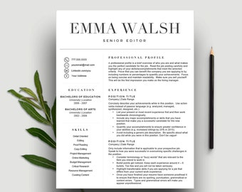 Resume package | Etsy