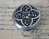 Sterling Silver Pill or Ring Box by Thomae Company Vintage 925 Hallmark