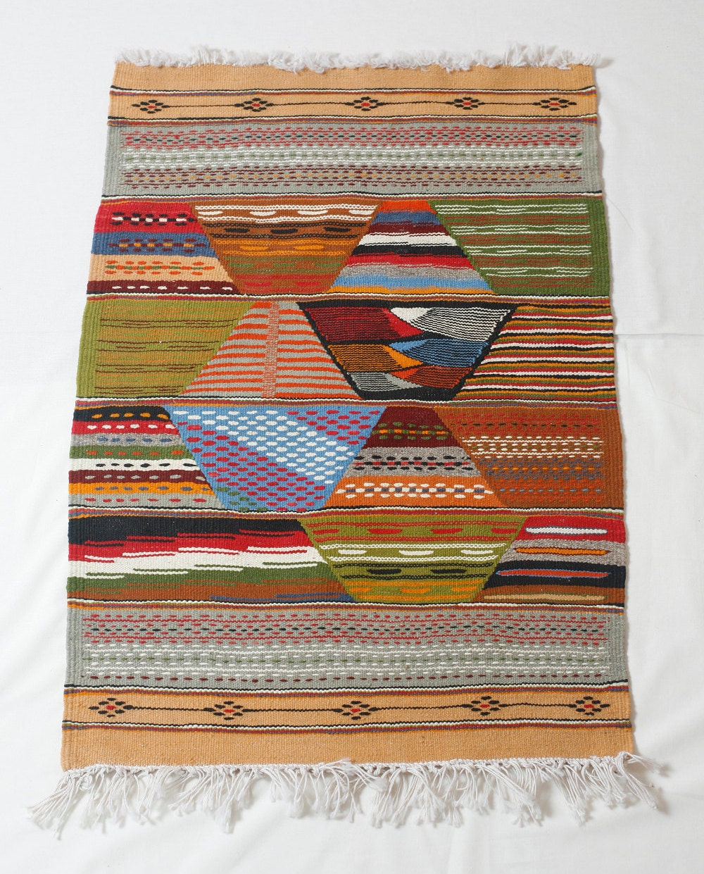 Bohemian Rug Decorative Kilim Rug Boho Tapestry Wall