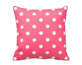 Decorative Pillow Cover Pink Throw Pillow Cover Hot Pink Pillow Cover Pink Accent Pillow Pink Cushion Cover 20x20 pillow 18x18 pillow