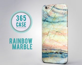 Iphone 6 Case Marble Iphone 6 Plus Case Turquoise Ipod By