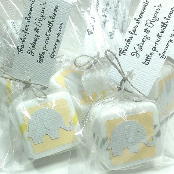Baby Shower Favors Gender Neutral ~ Gender neutral baby shower favors yellow