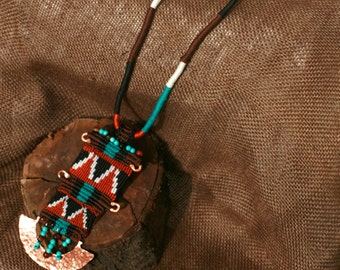 Native american jewelry, Native american necklace, Native american beadwork, Native american beaded jewelry