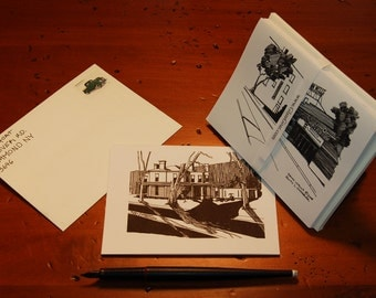 Wellsboro Thank You Greeting Note Cards