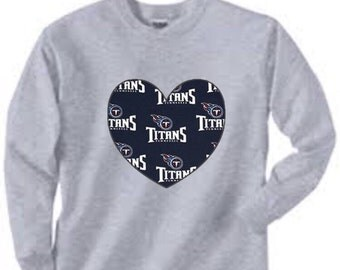 Long Sleeved Tennessee Titans Shirt, tennesse titans, titans baby, titans gift