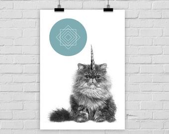 fine-art print poster UNICAT