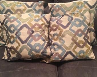 4 Decorative Pillows (sold as a set)