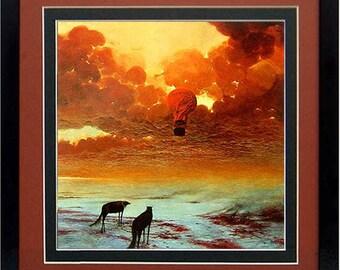 Framed Beksinski Art Poster Nevermore