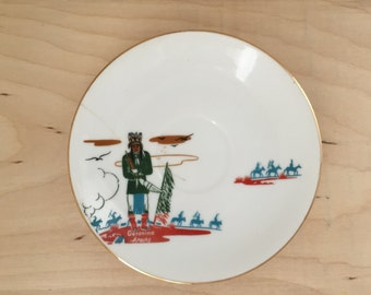 Geronimo saucer by Accee Blue Eagle - Now 50% Off Marked Price
