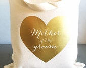 Custom tote bags- Tote Bags- Mother of the groom tote bag-Bridal party gift - Thank you gift