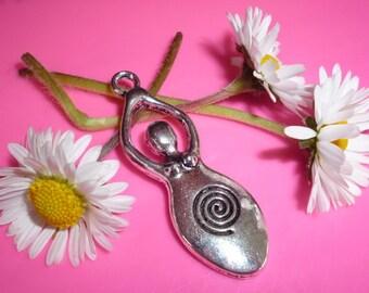 Sacred Spiral Goddes Charm Bead  - Blessing way