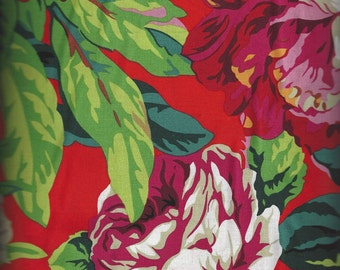 Kaffe Fassett Collective Spring 2016 - VOLUPTUOUS RED designed by Philip Jacobs