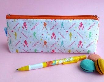 Cute Sailor Moon Case Zipper Pouch Bag Pen Box School Sailor Scouts Mercury Mars Jupiter Venus Anime