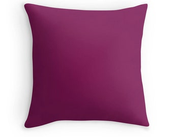 Plum Pillow, Plum Throw Pillow, Plum Decorative Pillow, Plum Pillow Case, Plum Toss Pillow