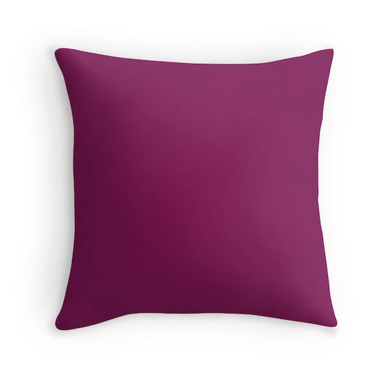Throw Pillows Printing : Plum Pillow Plum Throw Pillow Plum Decorative Pillow Plum