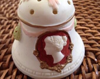 Antique Jasperware stick/hatpin holder