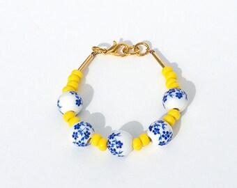 Baby Bracelet - toddler bracelet - flower girl jewelry- flower bracelet