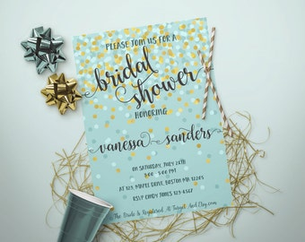 bridal shower invitation printable br51