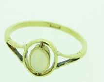 Victorian 18ct Gold Opal Ring (SKU227)