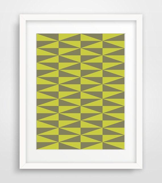 Lime green decorgreen wall artdiamond printsdiamond for Lime green wall art