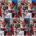 Marvel Spiderman Fabric Comic Scenes Superheroes Springs Creative Cotton BTY
