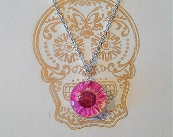 The Pink Daisy Necklace