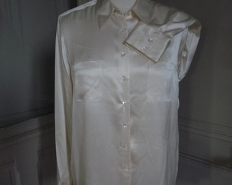 CACHAREL - silk blouse - size 42FR