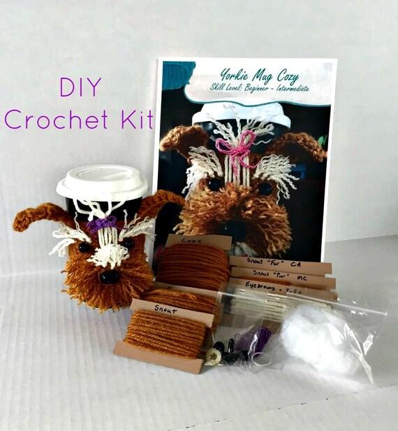 Crochet Kit Amigurumi Kit DIY Craft Project by HookedbyAngel