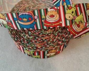 Christmas Ribbon | Bow Making Ribbon | Bow Making Ribbon | Bow Supplies | Grosgrain I Bow Grosgrain ribbon I