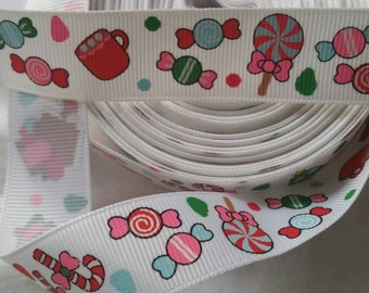 Candy Grosgrain Ribbon #GR003