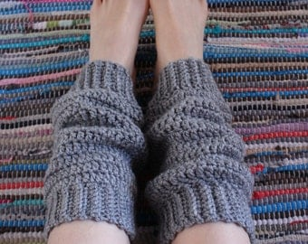leg warmers // crochet // UK // festival