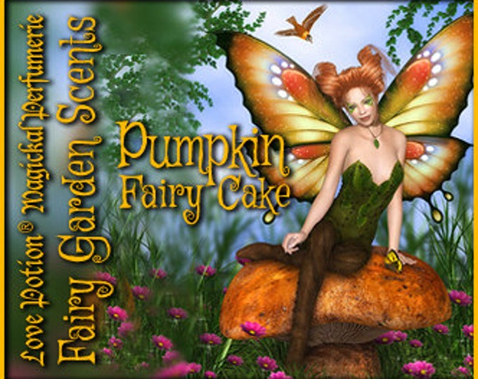Fairy Cake: Pumpkin - Sweet & Youthful Layerable Perfume - Love Potion Magickal Perfumerie