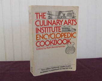 The Culinary Arts Institute Encyclopedic Cookbook, Vintage Cookbook, 1971