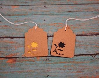 Sunflower Tag