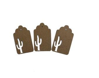 Saguaro Cactus Gift Tags