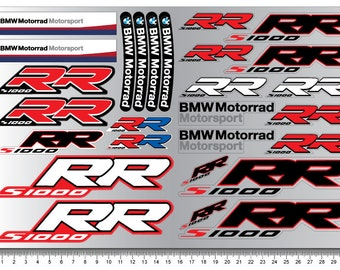 Ducati Corse Decal Sheet Motorbike Fairing Stickers Set Racing - Bmw motorcycle stickers and decals