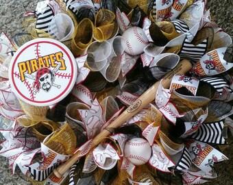Pittsburgh Pirates Wreath