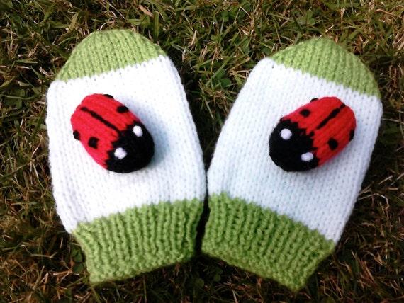 Knitting Ladybug Ladybird Headband : Ladybird knitting pattern lady bug by newforestknits