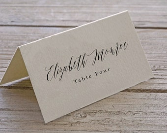 Wedding Place Cards - Customized Printable Place Cards - Escort Cards - Wedding Cards - Name Card - Place Card - Wedding Place Card