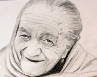 commissioned portraits pencil