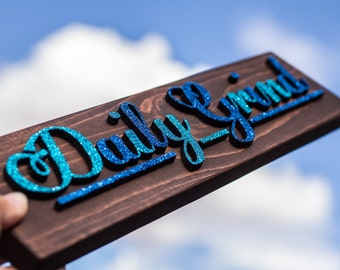 Daily Grind wall decor