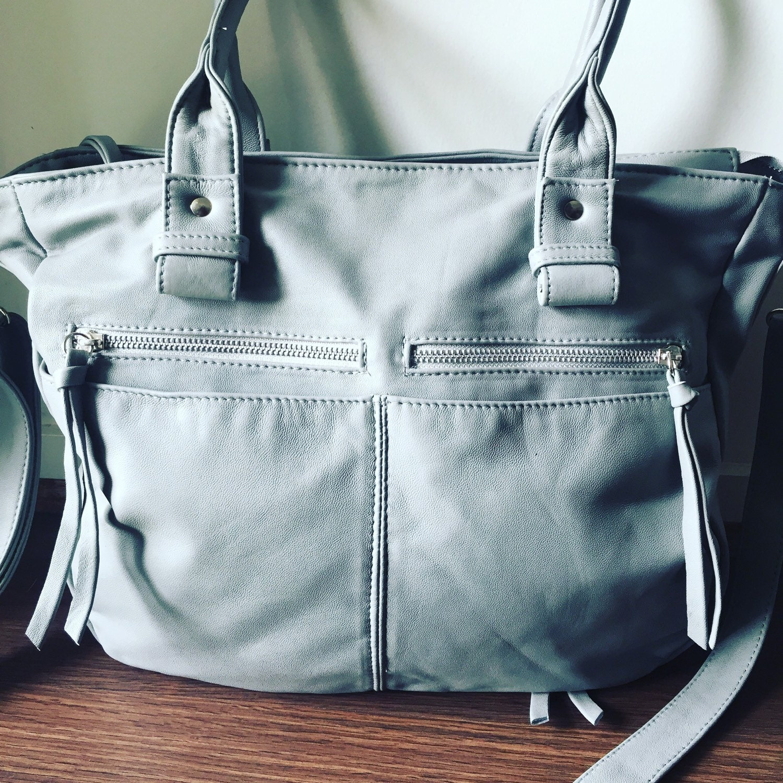 Handmade genuine leather handbag. Everyday bag, laptop bag ...