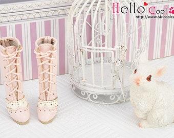 07-03。Blythe Pullip High Heel Boots.Pink