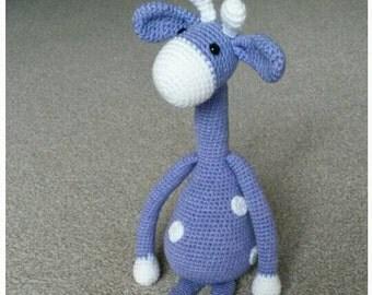 Lovely Crochet Giraffe