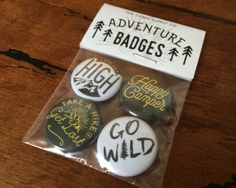 Adventure badge pack