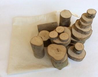 Natural wood toys, Wooden toys, Eco friendly gift, Waldorf toy, Wooden blocks toy, Olive Wood, Sensory toys, montessori toys, Waldorf Blocks