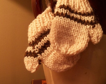 Mini Knitted Mittens