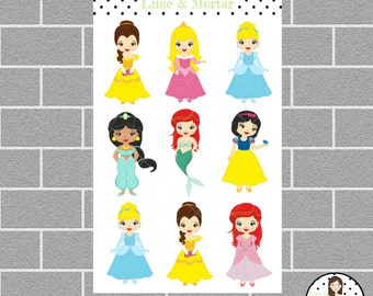 Princess Planner Stickers